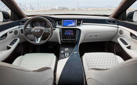 2019 infiniti QX50 Interior and detail