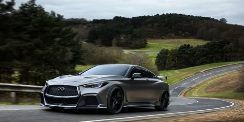 Design work has been led by Infiniti's London studio in Paddington, under the management of the Infiniti Global Design Center in Japan.