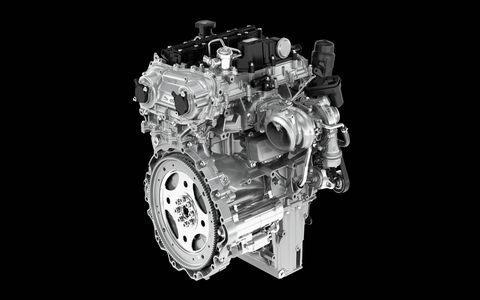 The new engines will power the Evoque and Discovery