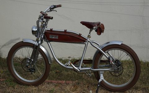 The ItalJet Ascot electric bicycle offers Italian styling and plenty of it.