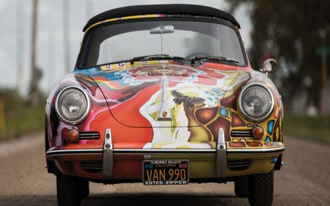 This 1964 Porsche 356 C 1600 SC was purchased by Janis Joplin when it was four years old, with the singer using it as her daily driver.