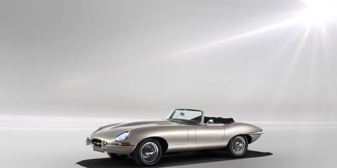 Jaguar will show its E-Type Zero electric vehicle at the 2018 Pebble Beach Concours