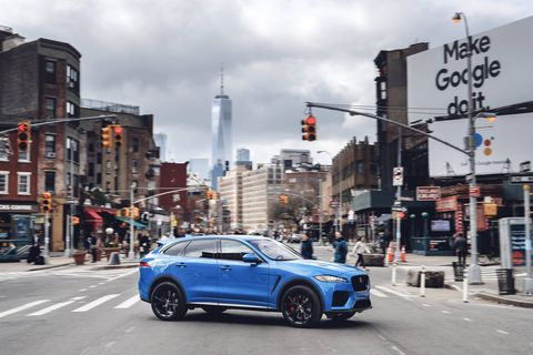 The updated 2019 Jaguar F-Pace comes with more technology and a freshened interior.