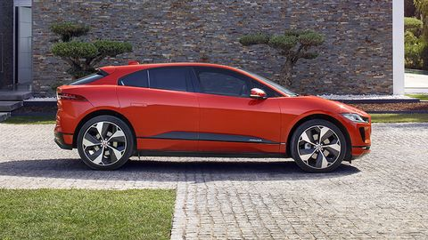 The I-Pace will go on sale in the second half of 2018, offering a range of 240 miles.