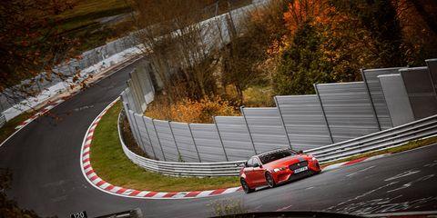 Jaguar XE SV Project 8 just took the Nürburgring lap record.