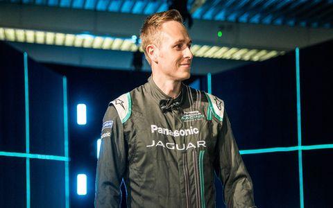 Adam Carroll is one of the three main drivers of the Panasonic Jaguar team.