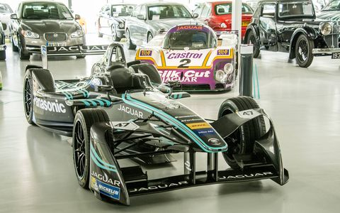 Panasonic Jaguar's first race is in October.