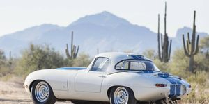 At $7,370,000, this 1963 Jaguar E-Type Lightweight was Bonhams' priciest lot -- and the top seller for the entire week of Arizona collector car auctions.