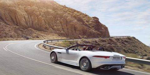 First drive of the 2016 Jaguar F-Type now with AWD and 6-speed manual transmission available.