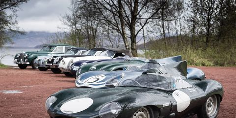 Jaguar Announces Star-studded Driver Line-up for Mille Miglia 2015.