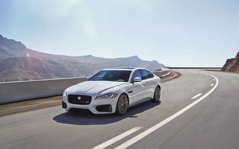 2016 Jaguar XF 35t and S AWD