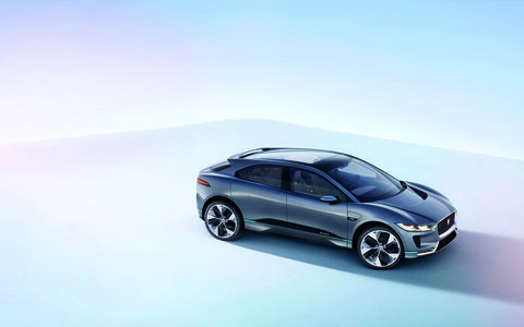 The I-Pace EV pledges a 220-mile useable range.