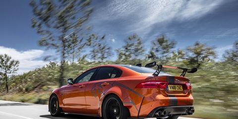 2019 Jaguar XE SV Project 8 On the Road