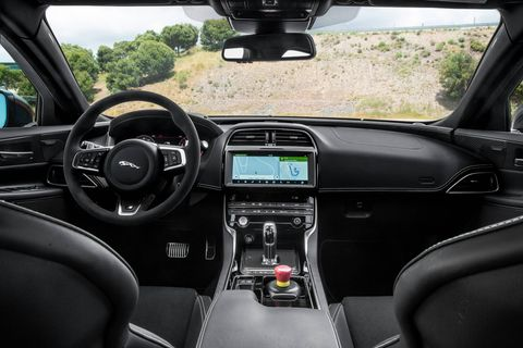 2019 Jaguar XE SV Project 8 Interior