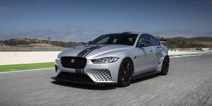2019 Jaguar XE SV Project 8 At The Track