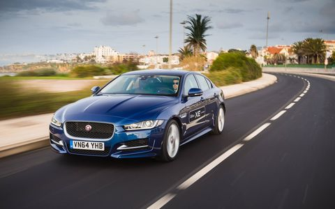The XE adopts Jaguar's new modular platform and becomes the only car in its segment with an aluminum-intensive monocoque.