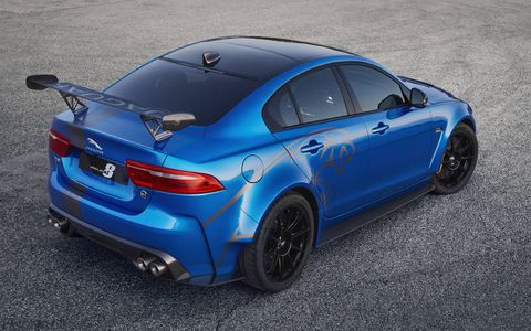 The Jaguar XE SV Project 8 is rolling into Monterey Car Week for its North American debut.