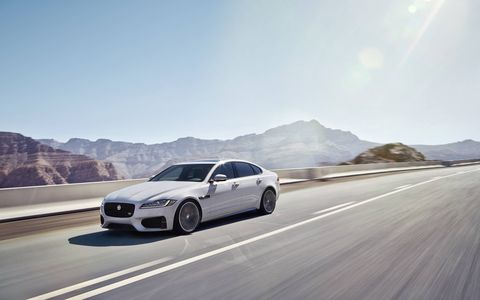 The 2016 Jaguar XF will debut at the New York auto show.