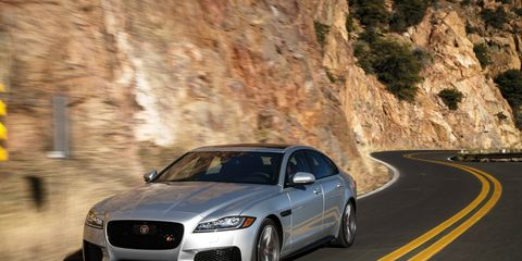 The Jaguar XF was introduced in 2008 and redesigned in 2016. In 2017 a shooting brake (wagon) version was added.