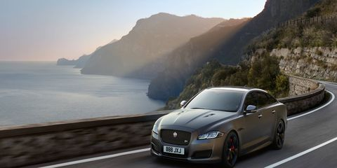 The special edition XJR575 delivers 575 hp, up from 550 hp in the XJR.