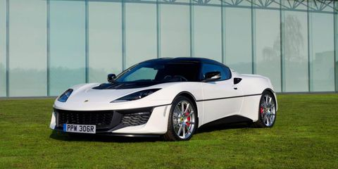 """Lotus put together a one-of-a-kind nod to the Lotus Esprit S1 from the James Bond film """"The Spy Who Loved Me."""""""
