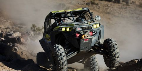 UTV's ain't just for breakfast anymore. The little suckers can take on the same trails where the big off-road rigs go. The UTV race is the third major event that makes up the annual King of the Hammers.