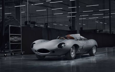 Jaguar Classic is re-starting production of the iconic D-type race car in Coventry, 62 years after the last example was built in 1956.