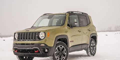 The Renegade goes on sale in March 2015.