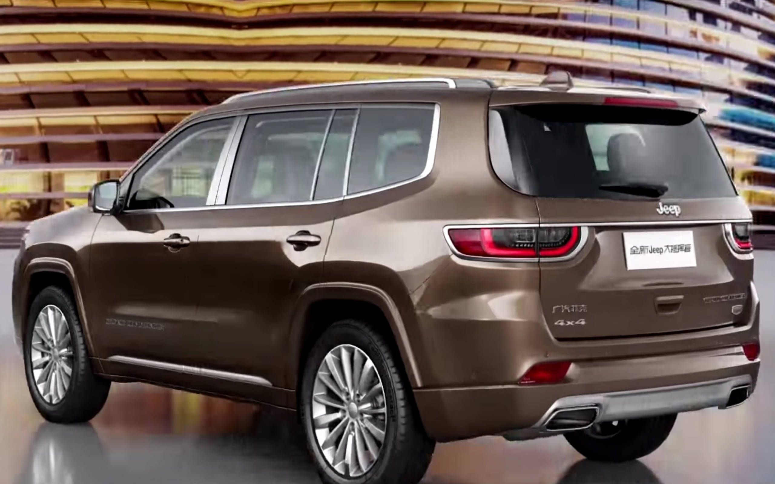 2019 Jeep Grand Commander Is A Seven Seater America Won T Get