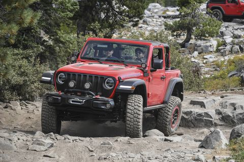 Sitting Wranglers There S No Shortage Of 2018 Jeep Wranglers