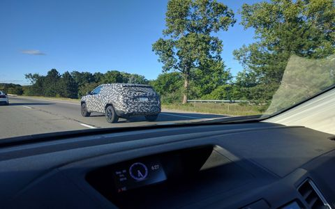 It's tough to say what exactly the small-scale Jeep is, but it makes sense for it to be a camo-covered Compass.