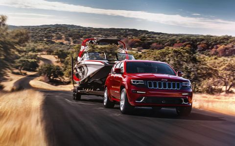 Towing capacity is rated at 7,200 pounds – a 44-percent improvement versus the 5,000-lb. towing capacity of the previous model.