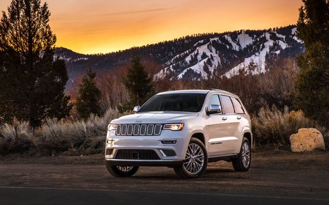 The Jeep Grand Cherokee Summit gets minor cosmetic updates for 2017, but Jeep left this 'utes bones alone.