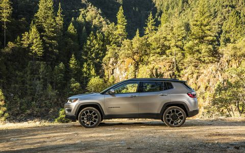 The 2017 Jeep Compass was unveiled at the 2016 LA Auto Show