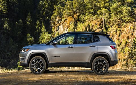 The 2017 Jeep Compass will go on sale next month starting at $22,090.