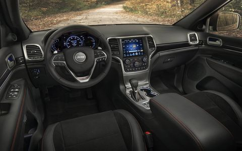 The Grand Cherokee Trailhawk is outfitted with the equipment necessary to make it a highly-capable SUV on and off road.