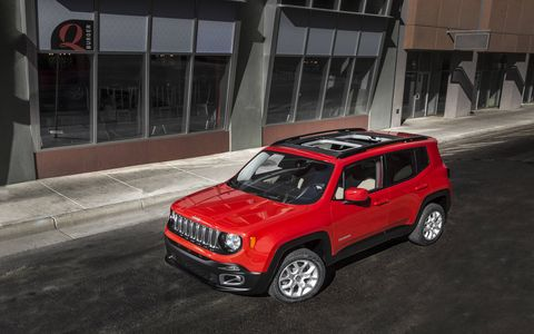 The 2018 Jeep Renegade is the smallest vehicle offered by Jeep.