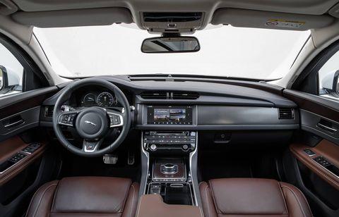 The 2018 Jaguar XF Sportbrake has over 31 cubic feet of cargo space.