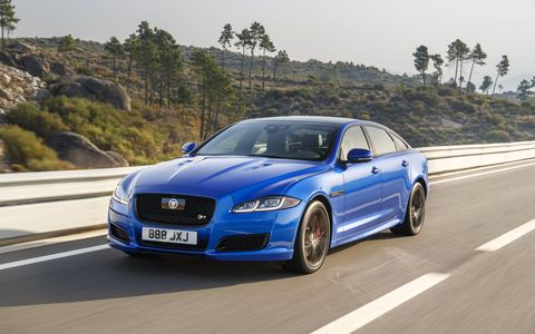 Jaguar could be looking to set the next version of the XJ as a Tesla killer.