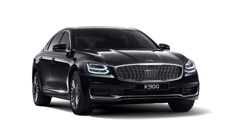 The all-new 2019 Kia K900 sedan will make its debut at the New York auto show, and go on sale later this year.
