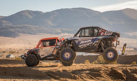 UTVs, or side-by-sides, are growing in popularity and capability. The Can-Am UTV race was the largest class at King of the Hammers