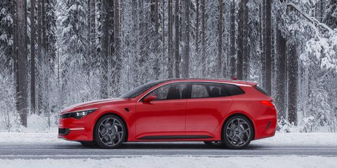 The Sportspace concept is said to preview the 2016 Optima sedan, which will replace a model that has been around since 2010.