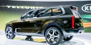 The Kia Telluride concept.