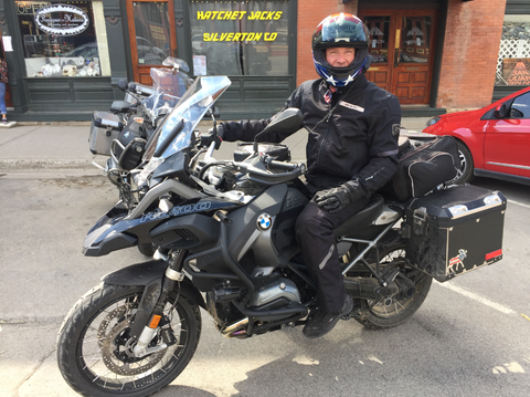 New friend and Autoweek reader Kurt Richardson was touring the state with his fellow BMW GS1200 enthusiasts. He recommended Kebler Pass. Thanks Kurt!