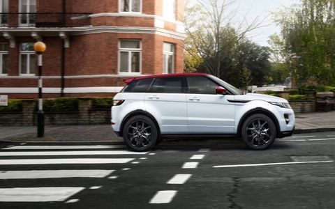 The Range Rover Evoque NW8 is the third of three special editions celebrating British heritage. NW8 stands for the North West postal area of London, where Abbey Road is located.