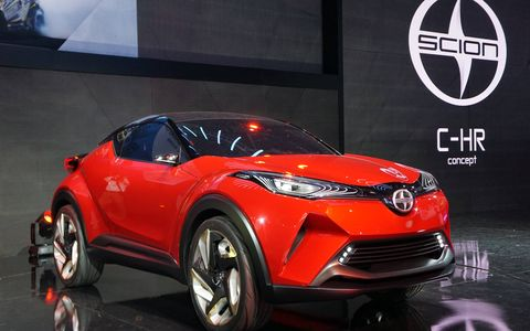 This revitalized Toyota concept that originally debuted at the Paris Motor Show in 2014, but gets a breath of fresh air as the Scion C-HR for 2015.