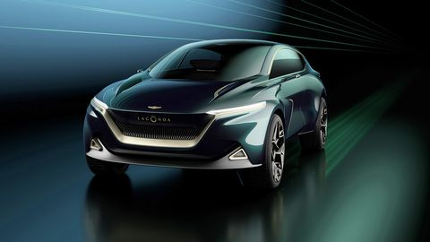 Aston Martin unveiled the Lagonda All-Terrain Concept at the 2019 Geneva Motor Show, previewing a lineup that will launch starting in 2022.