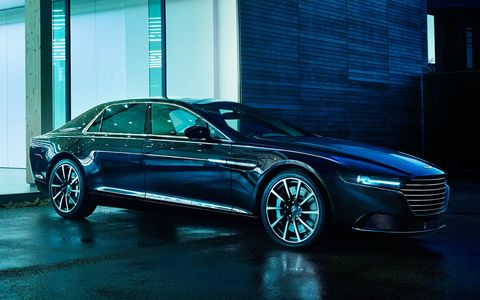 The 2015 Aston Martin Lagonda will be available in the Middle East only.