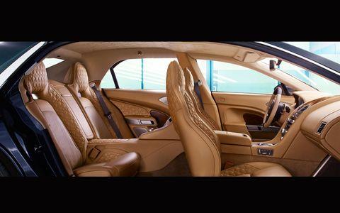 The Lagonda is based on the VH platform.