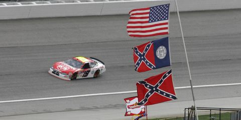 The Confederate flag has been a mainstay at southern NASCAR tracks for decades, but recent events have many calling for its widespread removal.